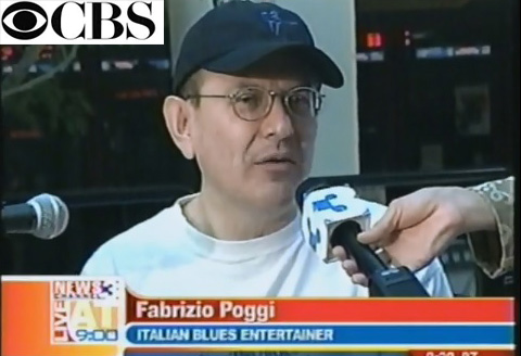 Fabrizio Poggi Live at Nine