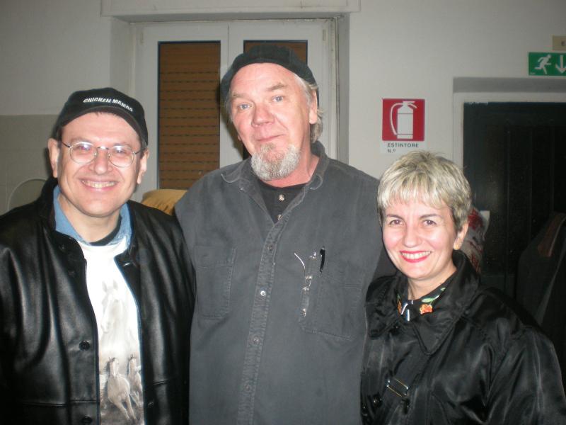 Fabrizio Poggi, Eric Taylor and Angelina