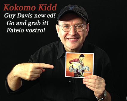 Fabrizio Poggi & Kokomo Kid Guy Davis cd
