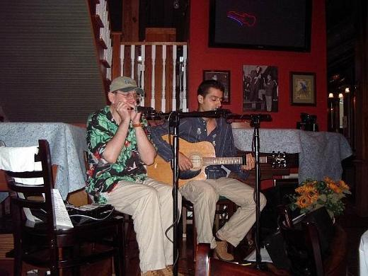 Fabrizio Poggi live at Blue Parrot Greenwood Mississippi