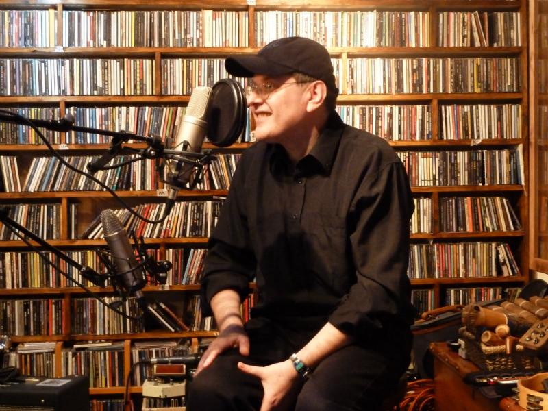 Fabrizio Poggi live at House of Mercy Radio Show London, UK