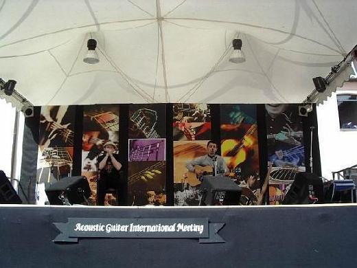 Fabrizio Poggi live at International Acoustic Guitar Meeting Sarzana