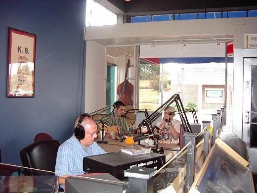 Fabrizio Poggi live at King Biscuit Time live KFFA Radio Helena, Arkansas
