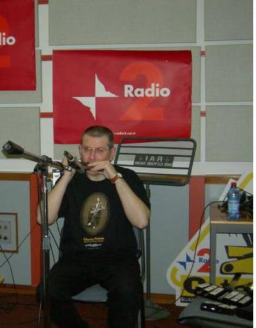Fabrizio Poggi live at Rai Radio 2