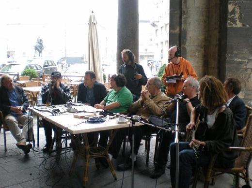 Fabrizio Poggi live at Rai Radio Due Tutti i colori del giallo