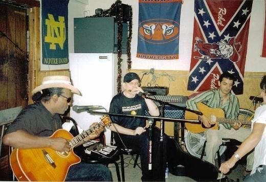 Fabrizio Poggi live in Clarksdale Mississippi