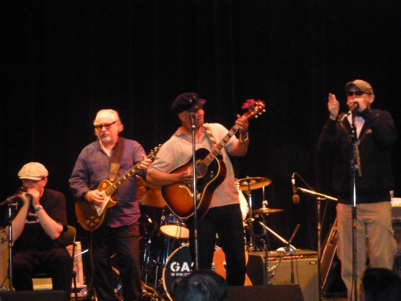 Fabrizio Poggi live with Bob Margolin, Guy Davis, Billy Gibson live at Lucerne Blues Festival