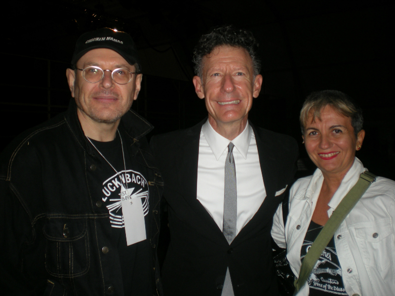 Fabrizio Poggi, Lyle Lovett and Angelina