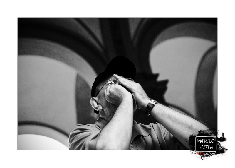 Fabrizio Poggi Bergamo Blues Festival photo by Mario Rota