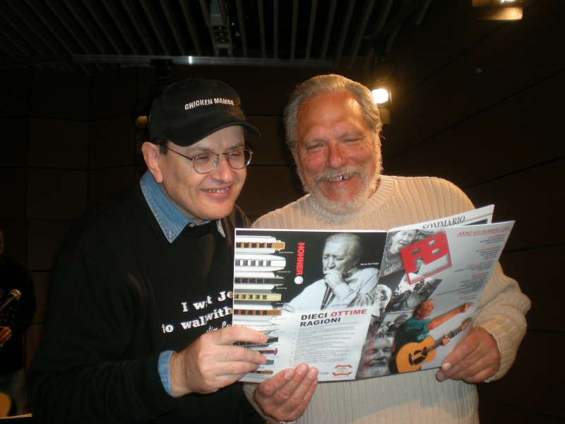 Fabrizio Poggi and Jorma Kaukonen
