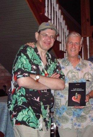 Fabrizio Poggi and Steve Lavere, Greenwood, Mississippi