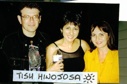 Fabrizio Poggi, Tish Hinojosa, Angelina