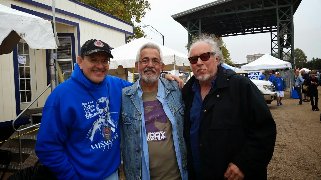 Fabrizzio Poggi, Butchie and Steady Rollin Bob Margolin