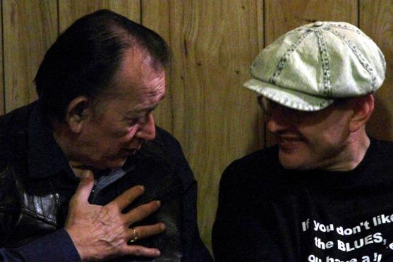 Flaco Jimenez and Fabrizio Poggi Uptown Theater - Marble Falls, Texas