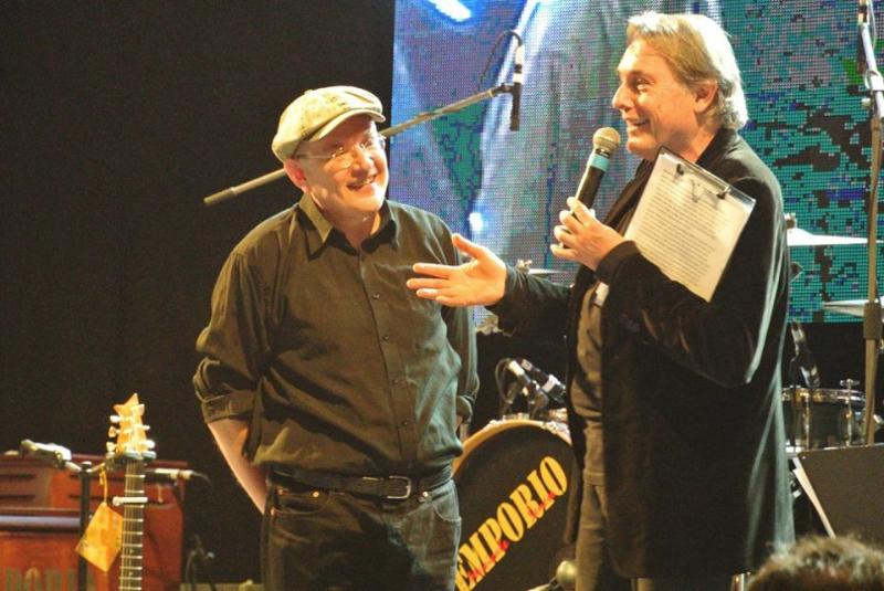 Fabrizio Poggi & Carlo Massarini