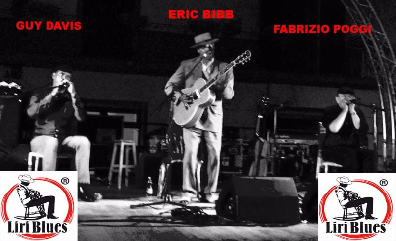 Guy Davis, Eric Bibb & Fabrizio Poggi