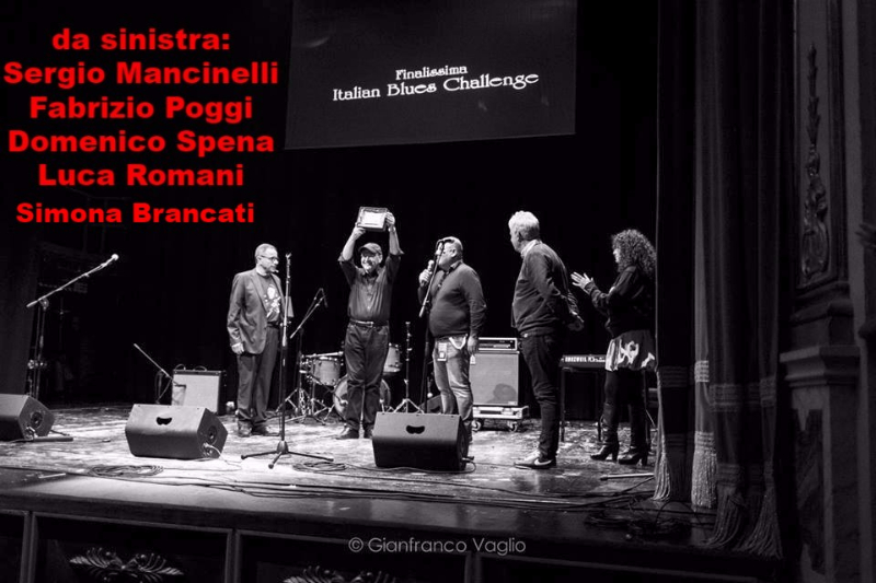 Fabrizio Poggi named Honorary member of  the Italian Blues Union