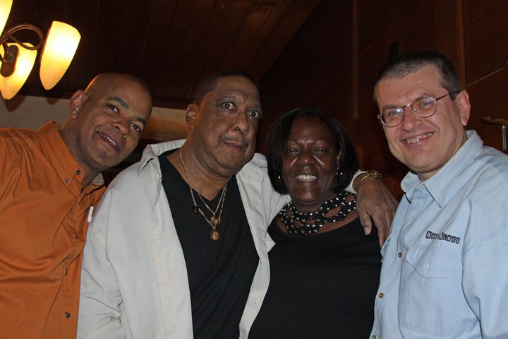 Guy Davis, Lou Pride, Tia Carrol and Fabrizio Poggi