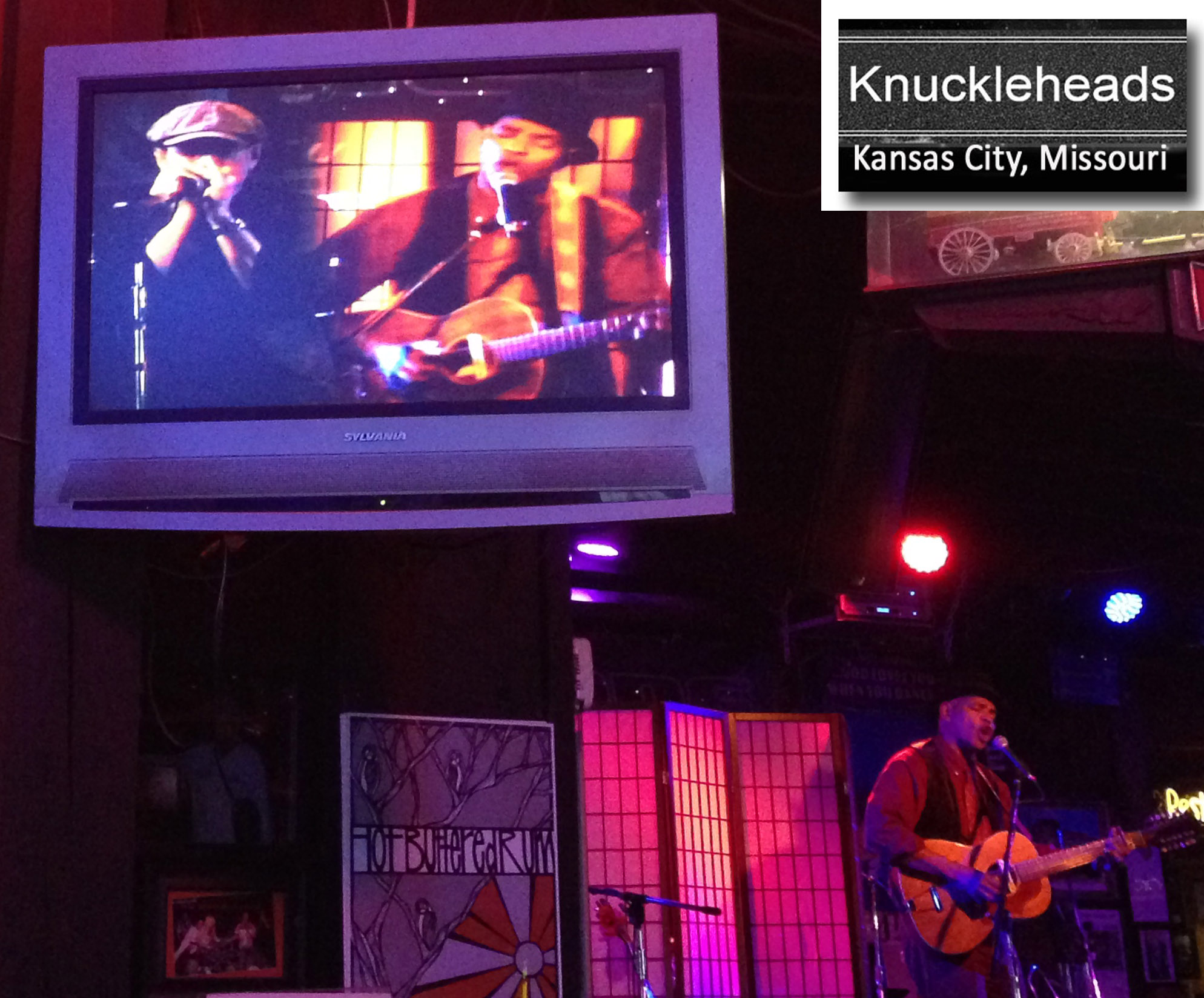 GUY DAVIS & FABRIZIO POGGI 2014 USA TOUR live at KNUCKLEHEADS Kansas City, Missouri