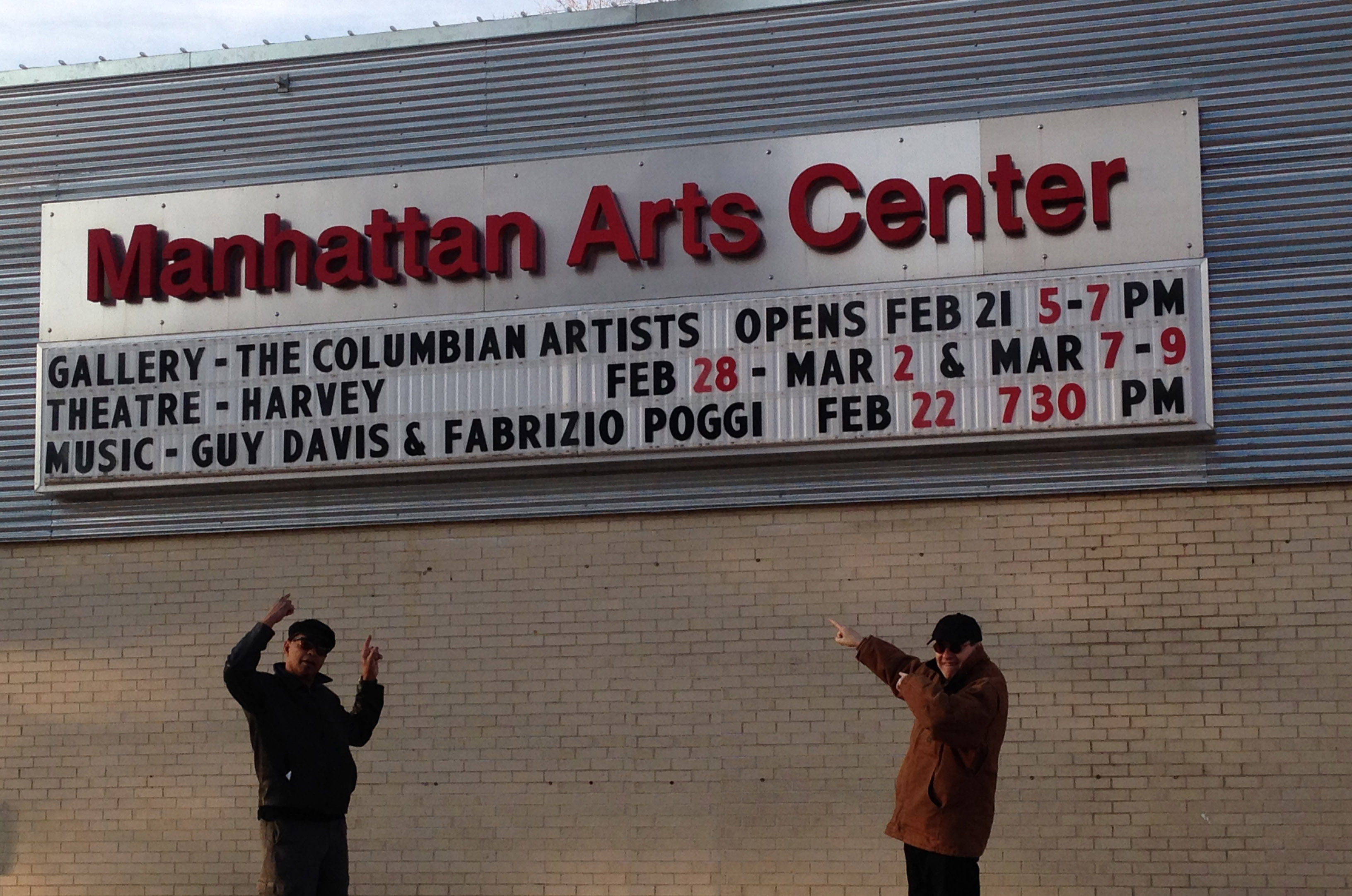 GUY DAVIS & FABRIZIO POGGI 2014 USA TOUR Manhattan College, Manhattan, Kansas