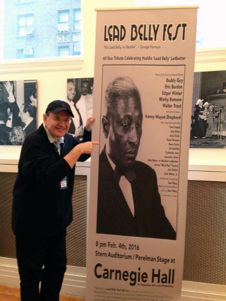 Fabrizio Poggi - Lead Belly Fest Carnegie Hall New York