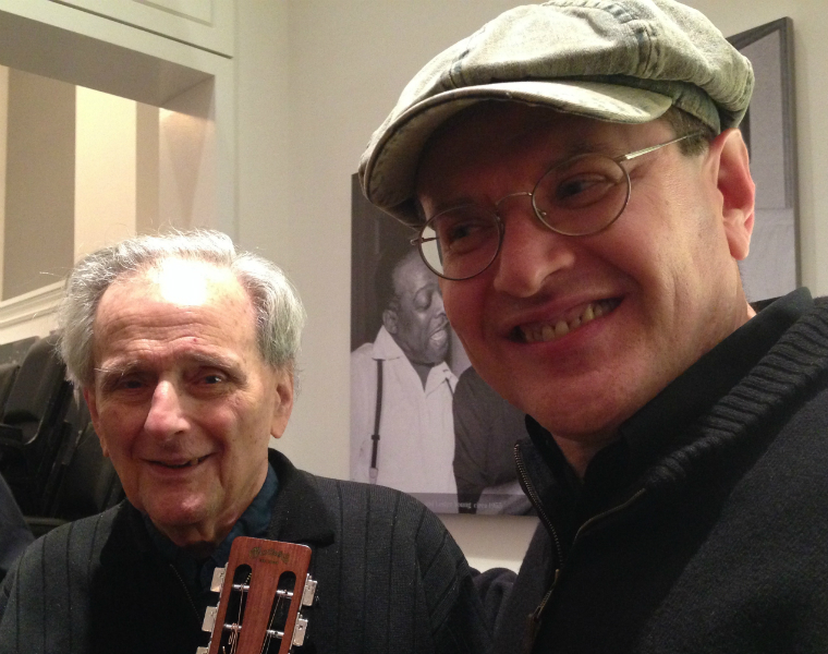 Tom Paley and Fabrizio Poggi