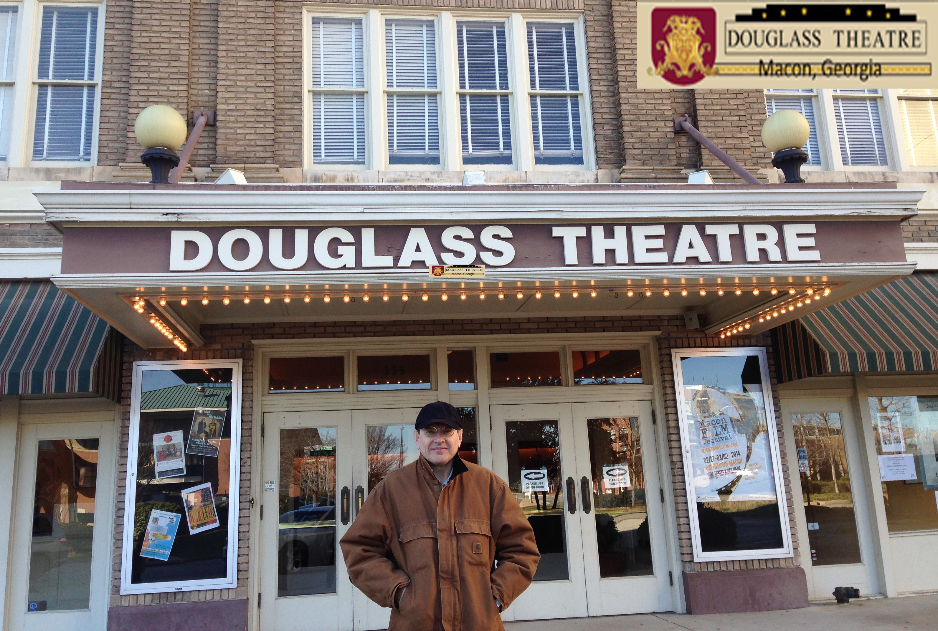 GUY DAVIS & FABRIZIO POGGI 2014 USA TOUR HISTORIC DOUGLAS THEATRE Macon, Georgia