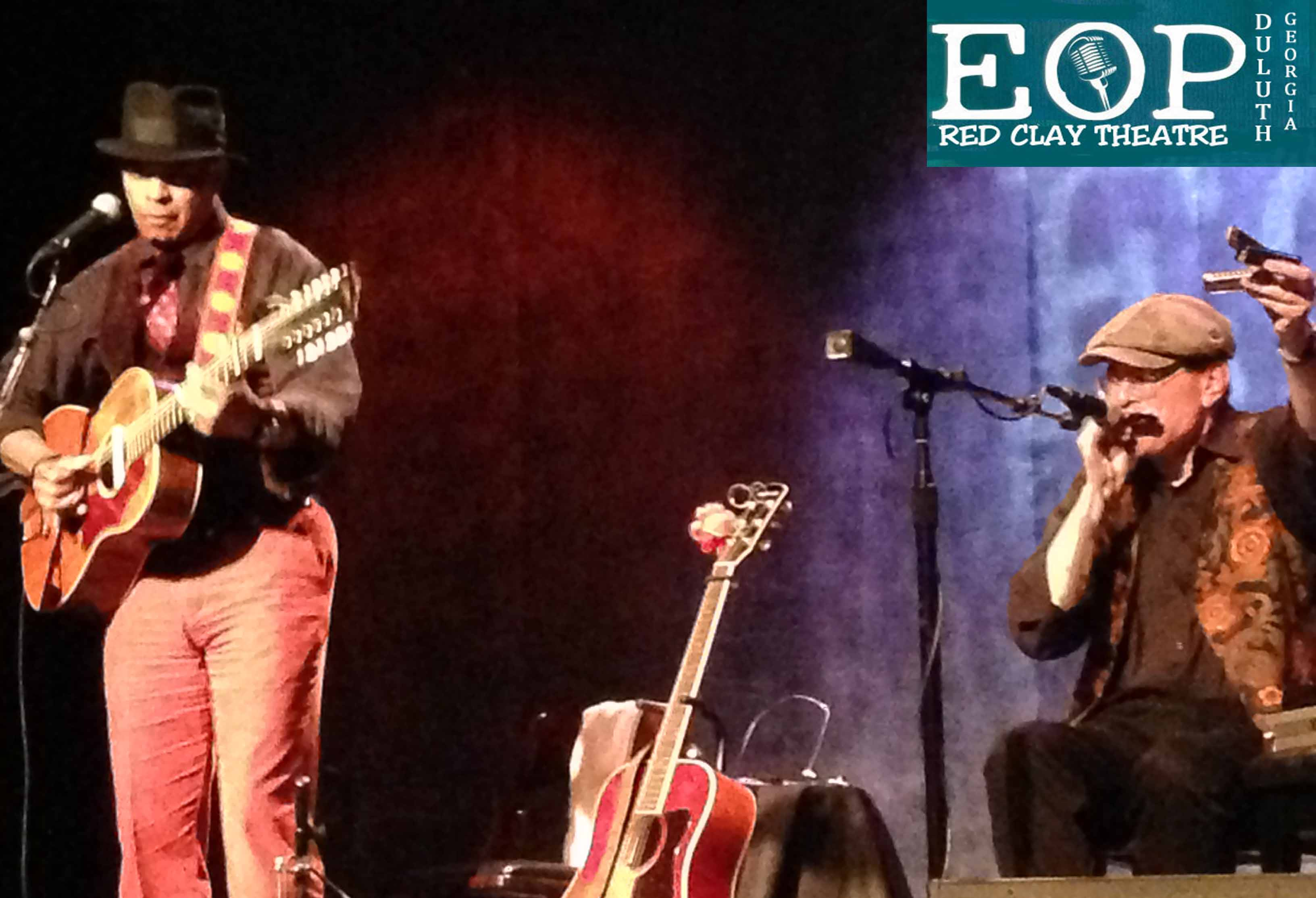 GUY DAVIS & FABRIZIO POGGI 2014 USA TOUR RED CLAY THEATRE Duluth, Georgia