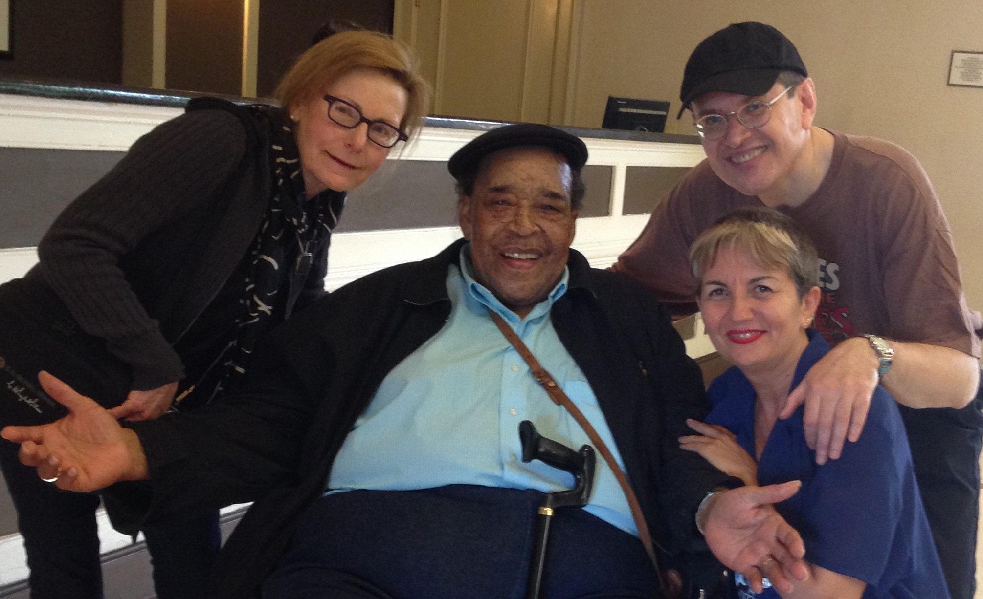 JACKLYN, JAMES COTTON, ANGELINA AND FABRIZIO POGGI