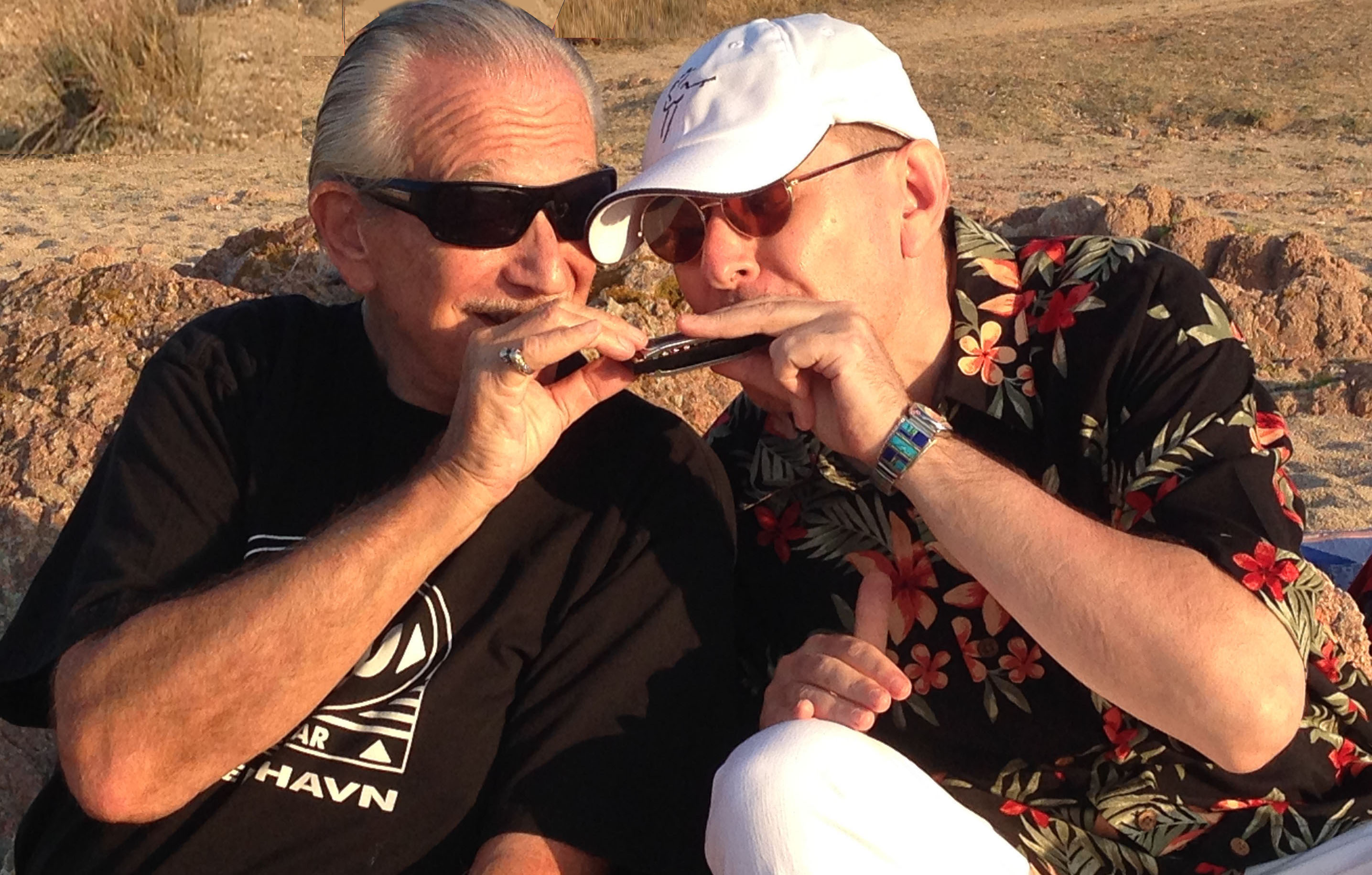 Charlie Musselwhite & Fabrizio Poggi Same harmonica same heart