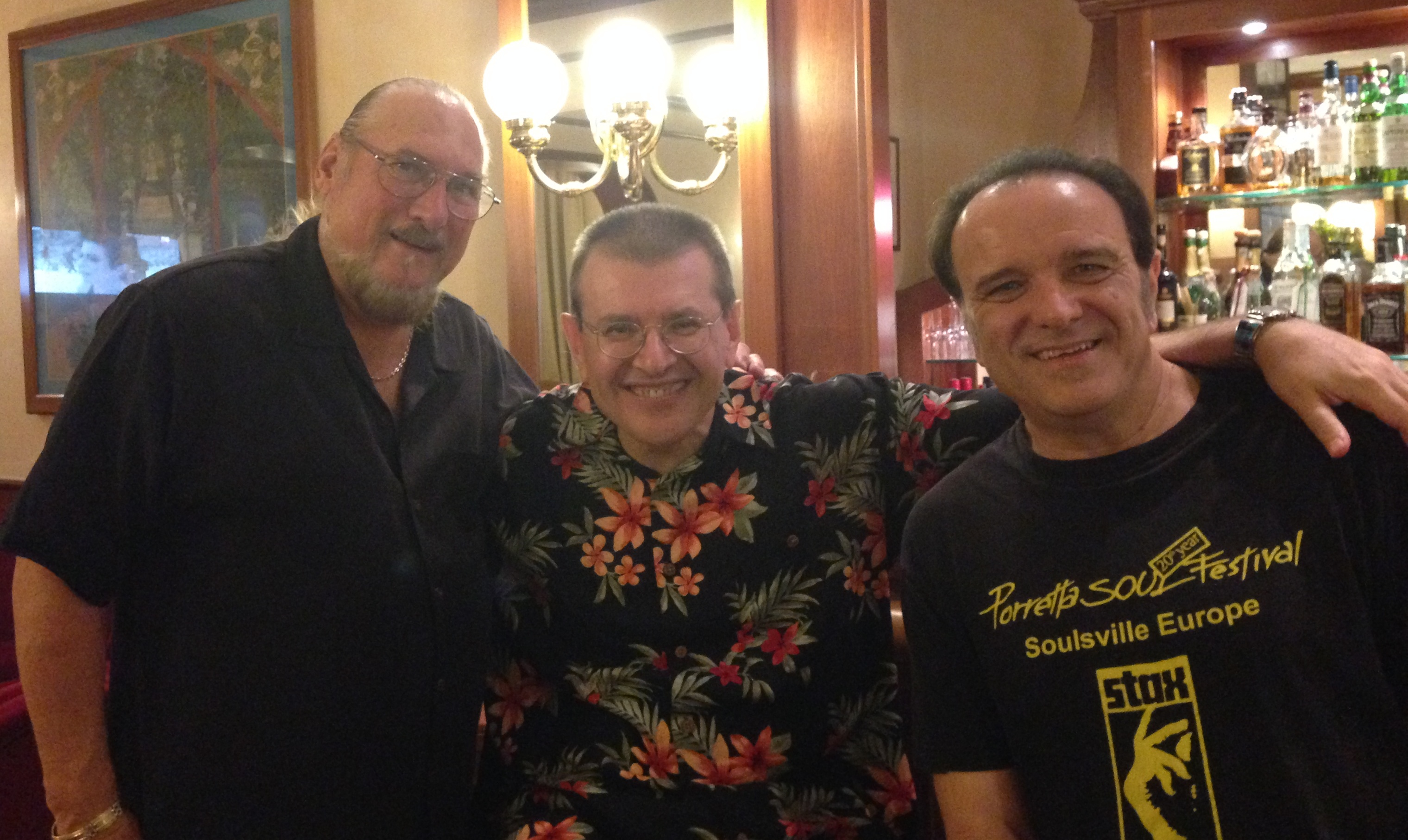 Steve Cropper, Fabrizio Poggi & Rob Paparozzi The Original Blues Brothers Band
