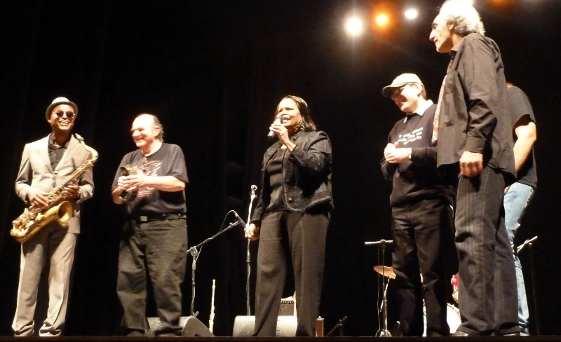 James Thompson, Pippo Guarnera, Laverne Guarnera, Fabrizio Poggi and Vince Vallicelli