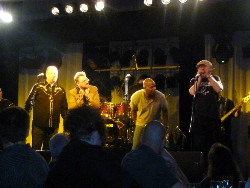 JT Lauritsen, Billy Gibson, Guy Davis and Fabrizio Poggi_live in Visp, Switzerland