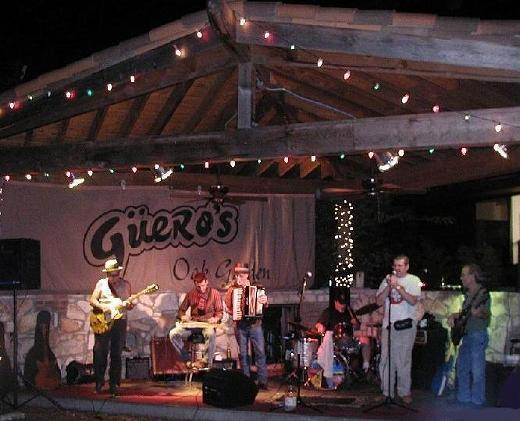 Live at Guero\'s Austin Texas  Ponty Bone and Fabrizio Poggi