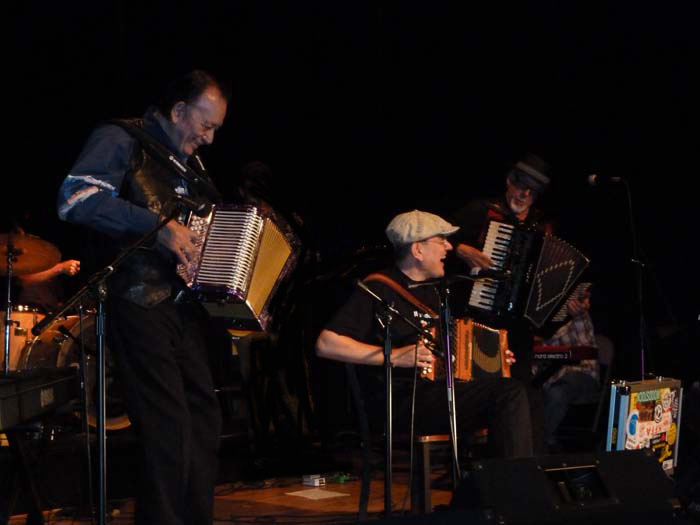 Fabrizio Poggi live in Texas with Flaco Jimenez and Ponty Bone