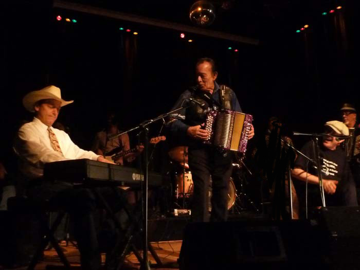 Fabrizio Poggi live in Texas with Flaco Jimenez and Floyd Domino