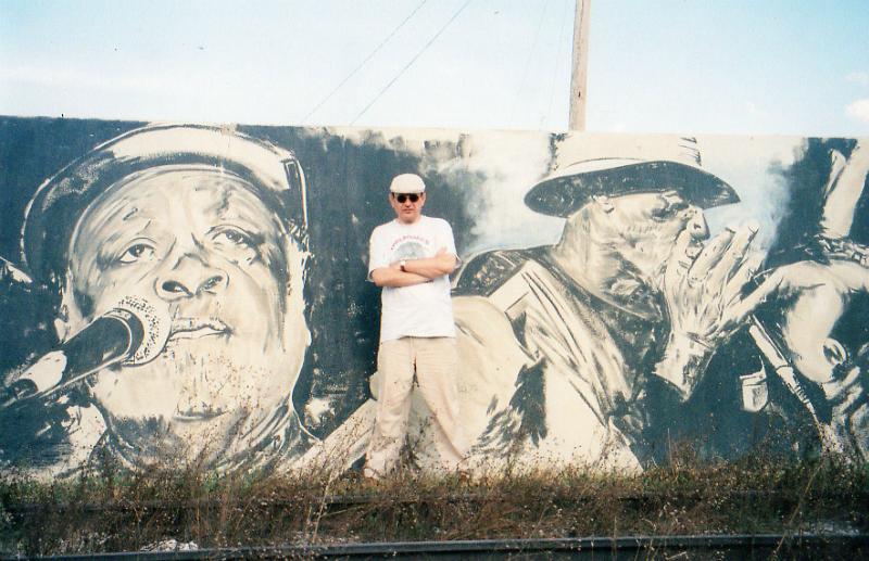 Fabrizio Poggi murales in Helena, Arkansas