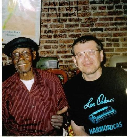 Pinetop Perkins and Fabrizio Poggi