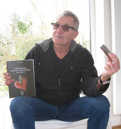 Paul Lamb with Fabrizio\'s book