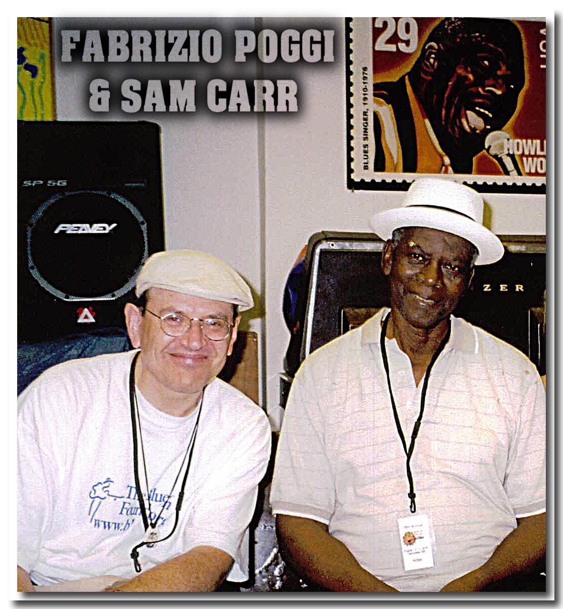 Fabrizio Poggi and Sam Carr - Clarksdale, Mississippi