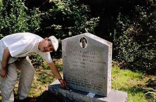 Sonny Boy Williamson II gravesite - Tutwiler, Mississippi