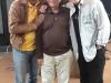 Guy Davis, Bob Sherman and Fabrizio Poggi (Woody's Children radio program on WFUV)
