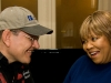 Fabrizio Poggi & Mavis Staples photo by Donovan Allen
