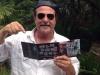 Joe Forlini with Fabrizio Poggi\'s cd Texas Blues Voices
