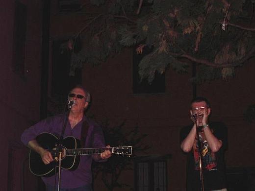 Tom Russell and Fabrizio Poggi live