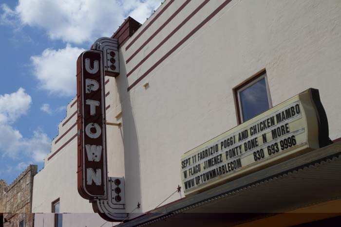 Uptown Theater, Marble Falls Texas
