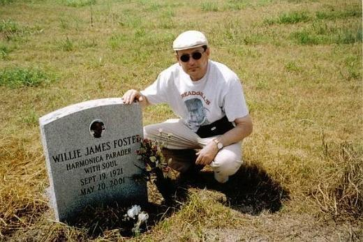 Willie Foster gravesite - Holly Ridge, Mississippi
