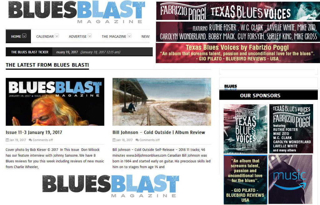 BLUES BLAST ADS