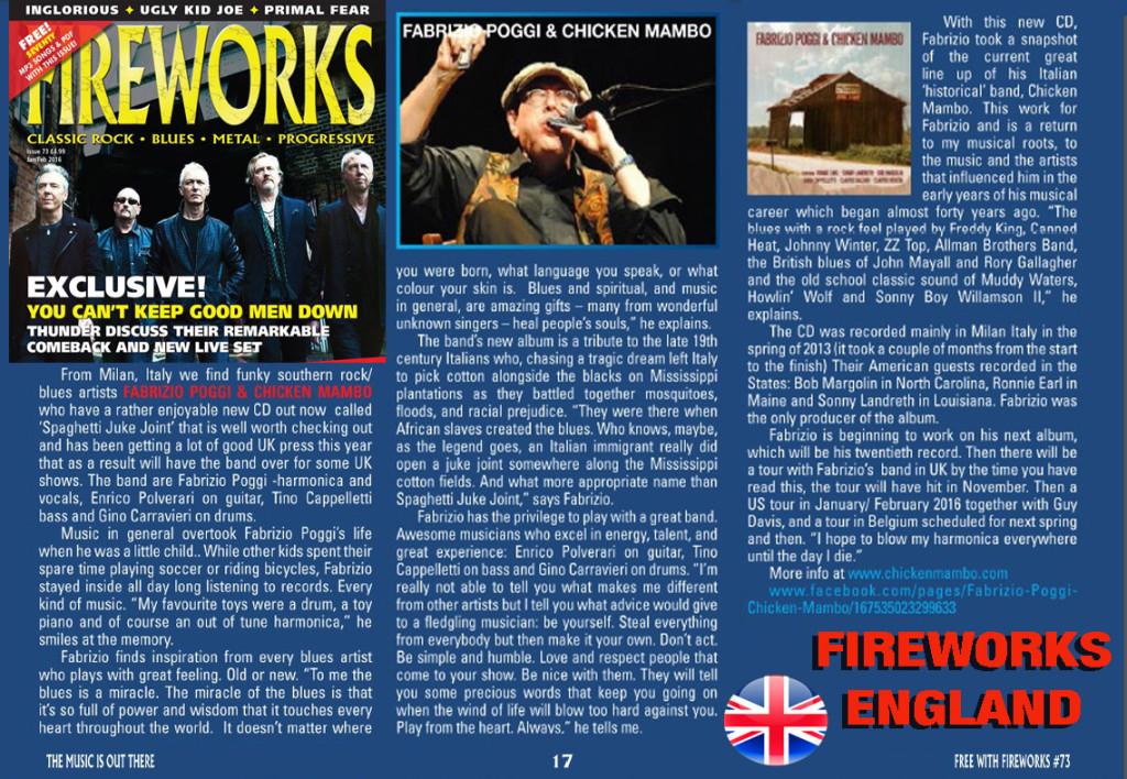 FIREWORKS ENGLAND