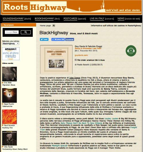 Recensione RootsHighway